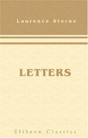 Cover of: Letters