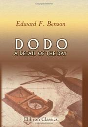 Cover of: Dodo: a detail of the day