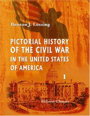 Cover of: Pictorial History of the Civil War in the United States of America