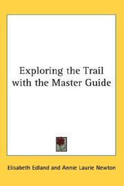 Cover of: Exploring the Trail with the Master Guide