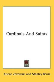 Cover of: Cardinals And Saints