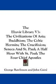 Cover of: The Elzevir Library V3