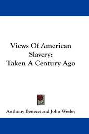 Cover of: Views Of American Slavery