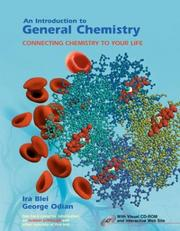 Cover of: An Introduction to General Chemistry & CDR