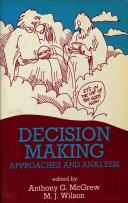 Cover of: Decision Making