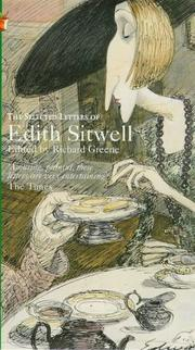 Cover of: Selected letters of Edith Sitwell