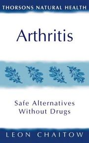 Cover of: Arthritis (Thorsons Natural Health)