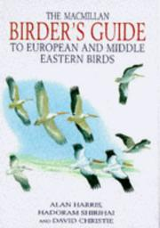 Cover of: The Macmillan Birder's Guide to European and Middle Eastern Birds
