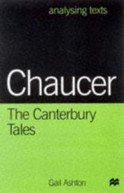 Cover of: Chaucer (Analysing Texts)