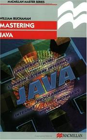 Cover of: Mastering Java (Palgrave Master)
