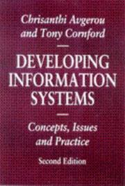 Cover of: Developing Information Systems (Macmillan Information Systems)