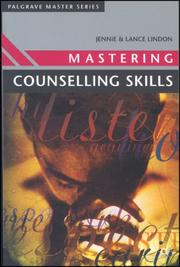 Cover of: Mastering Counselling Skills (Palgrave Master)
