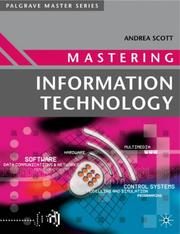 Cover of: Mastering Information Technology (Palgrave Masters Series (Computing))