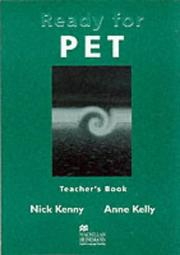 Cover of: Ready for PET