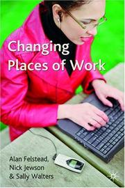 Cover of: Changing Places of Work