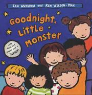 Cover of: Goodnight, Little Monster