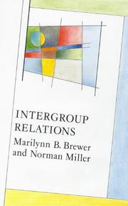 Cover of: Intergroup Relations (Mapping Social Psychology)
