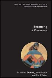 Cover of: Becoming a Researcher