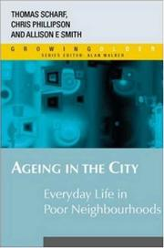 Cover of: Ageing in the City