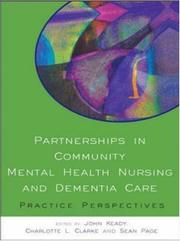 Cover of: Partnerships in Community Mental Health Nursing & Dementia Care