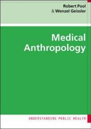 Cover of: Medical Anthropology (Understanding Public Health)