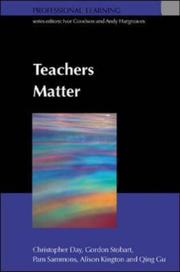 Cover of: Teachers Matter (Professional Learning)
