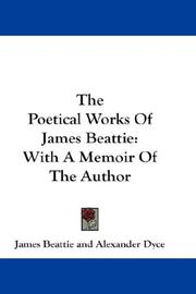 Cover of: The Poetical Works Of James Beattie