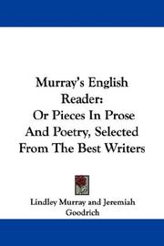 Cover of: Murray's English Reader