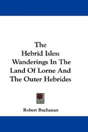 Cover of: The Hebrid Isles