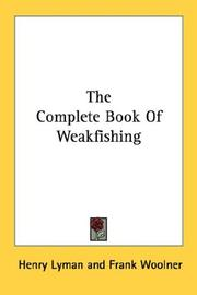 Cover of: The Complete Book Of Weakfishing