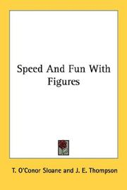 Cover of: Speed And Fun With Figures