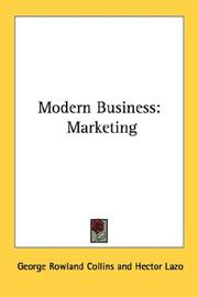 Cover of: Modern Business