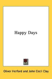 Cover of: Happy Days