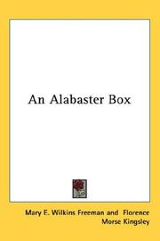 Cover of: An Alabaster Box