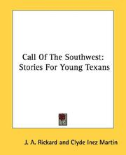 Cover of: Call Of The Southwest