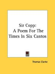 Cover of: Sir Copp