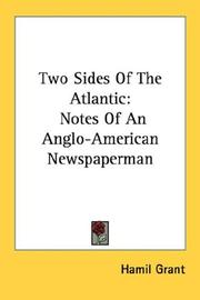 Cover of: Two Sides Of The Atlantic