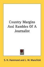 Cover of: Country Margins And Rambles Of A Journalist