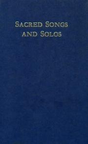Cover of: Sacred Songs and Solos: Twelve Hundred Hymns