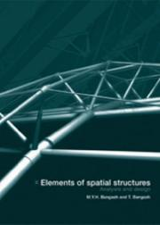 Cover of: Elements of Spatial Structures