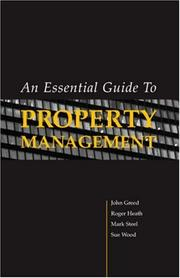 Cover of: An Essential Guide to Property Management