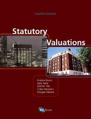 Cover of: Statutory Valuations, Fourth Edition