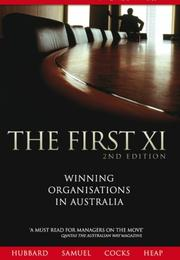 Cover of: The First XI
