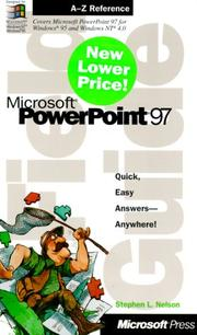 Cover of: Microsoft(r) PowerPoint(r) 97 Field Guide