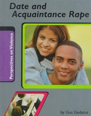 Cover of: Date and Acquaintance Rape (Perspectives on Violence)