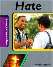 Cover of: Hate (Perspectives on Violence)