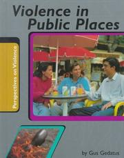 Cover of: Violence in public places
