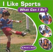 Cover of: I Like Sports