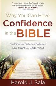 Cover of: Why You Can Have Confidence in the Bible