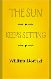 Cover of: The Sun Keeps Setting